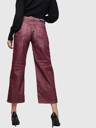 Diesel - Widee 0091T, Burgunderrot - Jeans - Image 2