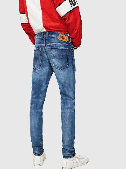 Diesel - Sleenker 069FY, Mittelblau - Jeans - Image 2