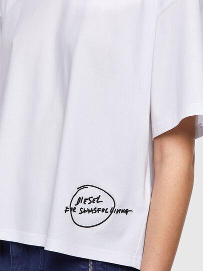 Diesel - T-BOWBOW, Blanc - T-Shirts - Image 4