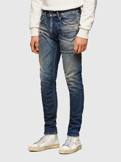 Diesel - D-Strukt 009TX, Bleu Foncé - Jeans - Image 3