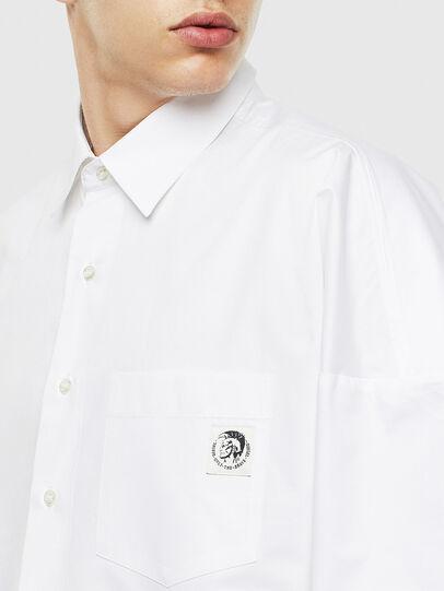 Diesel - S-LOOMY, Weiß - Hemden - Image 3