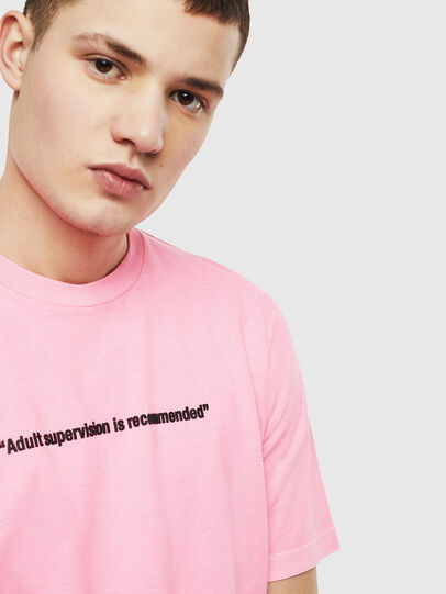 Diesel - T-JUST-NEON, Rosa - T-Shirts - Image 5
