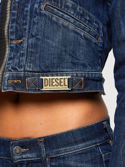 Diesel - DE-BLONDY, Dunkelblau - Denim jacken - Image 5