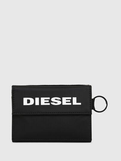 Diesel - YOSHI, Schwarz - Kleine Portemonnaies - Image 1