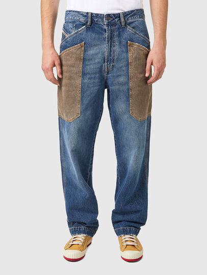Diesel - D-Franky 0GCAY, Bleu moyen - Jeans - Image 1