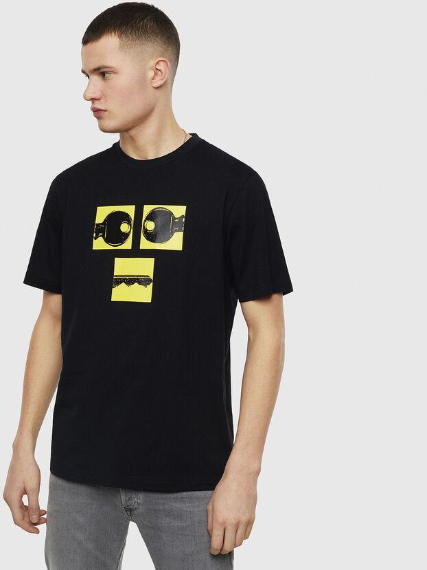 T-JUST-T23, Schwarz - T-Shirts
