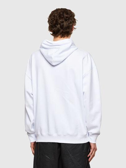 Diesel - S-UMMER-E1, Blanc - Pull Cotton - Image 2