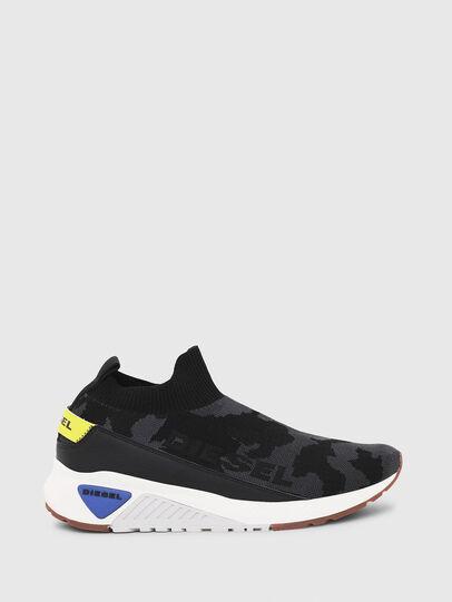 Diesel - S-KB SOCK QB, Schwarz - Sneakers - Image 1