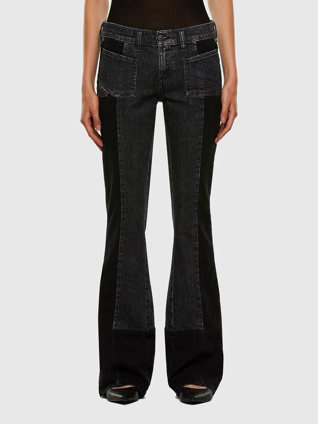 D-Ebbey 009IM, Schwarz/Dunkelgrau - Jeans