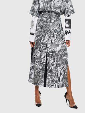 O-MOYA-B, Schwarz/Weiß - Röcke