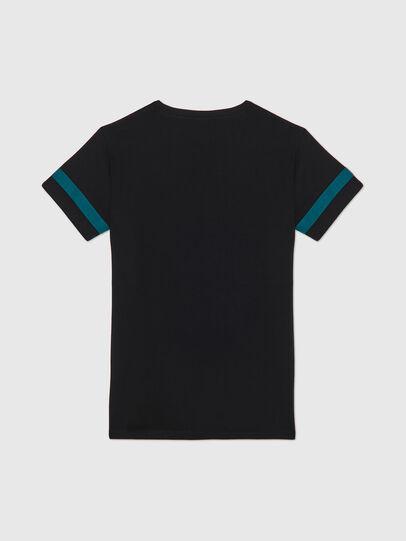 Diesel - UFTEE-CHEERLY, Schwarz/Blau - T-Shirts - Image 2