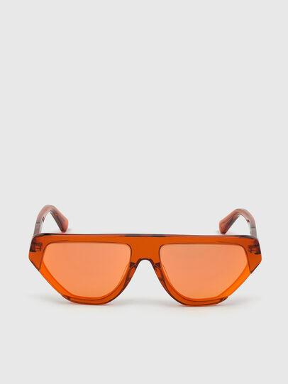 Diesel - DL0322, Arancione - Occhiali da sole - Image 1