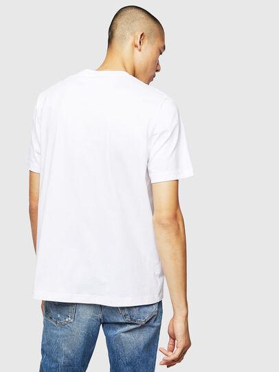 Diesel - T-JUST-B1, Weiß - T-Shirts - Image 2
