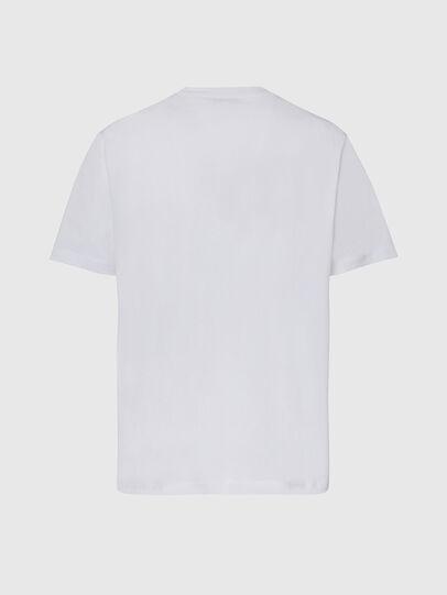 Diesel - T-JUST-X65, Weiß - T-Shirts - Image 2