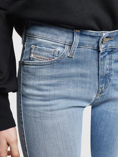 Diesel - Slandy 0096L, Hellblau - Jeans - Image 4