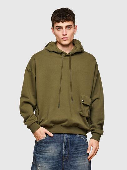 Diesel - S-ERPOCK, Vert Militaire - Pull Cotton - Image 1