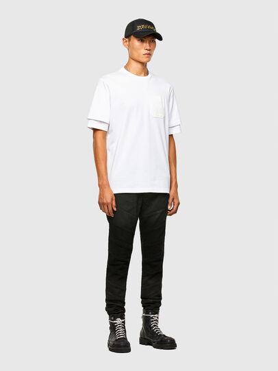 Diesel - T-FONTAL, Weiß - T-Shirts - Image 5