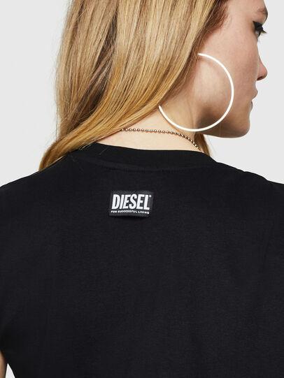 Diesel - D-DASHA, Schwarz - Kleider - Image 5