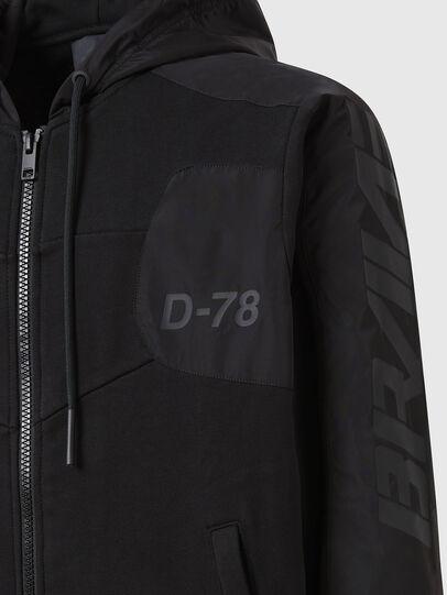 Diesel - S-JAKLER, Schwarz - Sweatshirts - Image 4