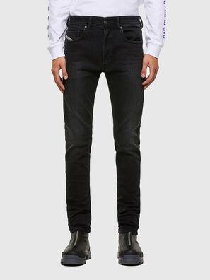 Sleenker 009DH, Schwarz/Dunkelgrau - Jeans