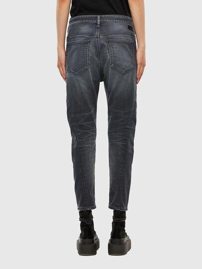 Diesel - FAYZA JoggJeans® 069QA, Schwarz/Dunkelgrau - Jeans - Image 2