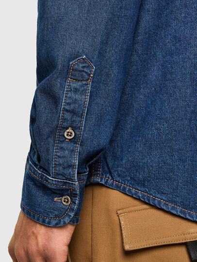 Diesel - D-BILLY, Blu Scuro - Camicie in Denim - Image 4