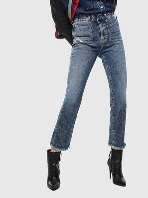 D-Earlie 0098W, Mittelblau - Jeans