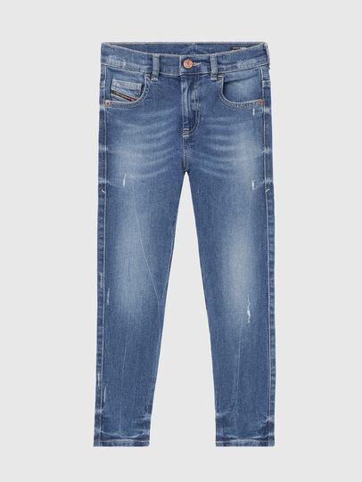 Diesel - D-SLANDY-HIGH-J, Mittelblau - Jeans - Image 1