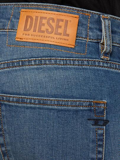 Diesel - D-Strukt 009EI, Mittelblau - Jeans - Image 4