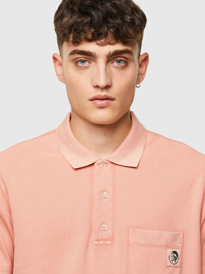 Diesel - T-POLO-WORKY-B1, Rose Poudré - Polos - Image 3