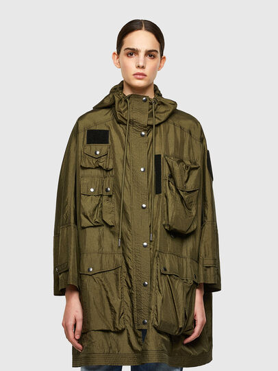 Diesel - G-NEVA, Olive Green - Jackets - Image 1
