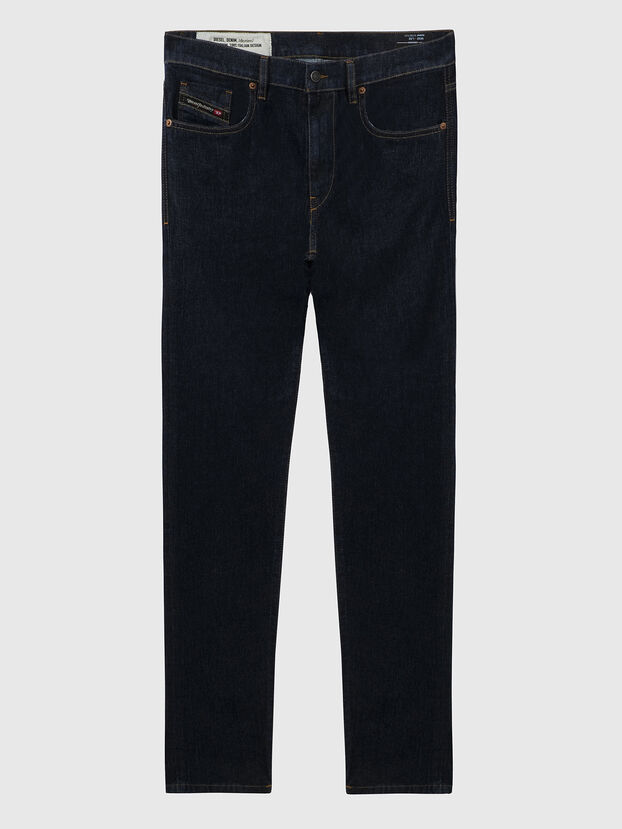 D-Strukt A09HF, Dunkelblau - Jeans