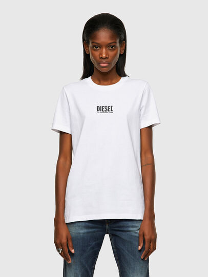 Diesel - T-SILY-ECOSMALLOGO, Blanc - T-Shirts - Image 1