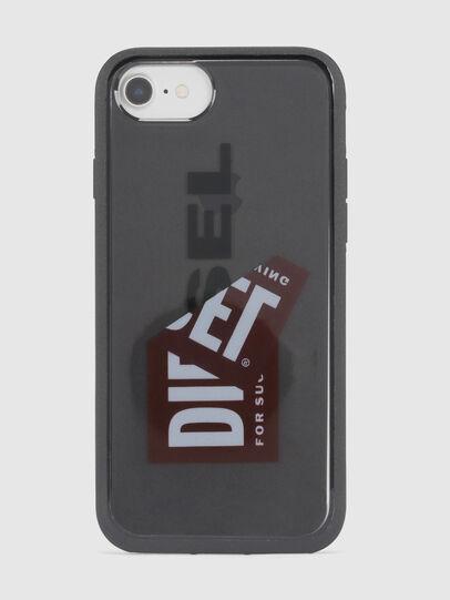 Diesel - STICKER IPHONE 8/7/6S/6 CASE, Schwarz - Schutzhüllen - Image 2