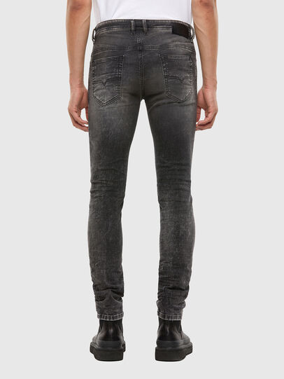 Diesel - Thommer JoggJeans® 009KC, Schwarz/Dunkelgrau - Jeans - Image 2