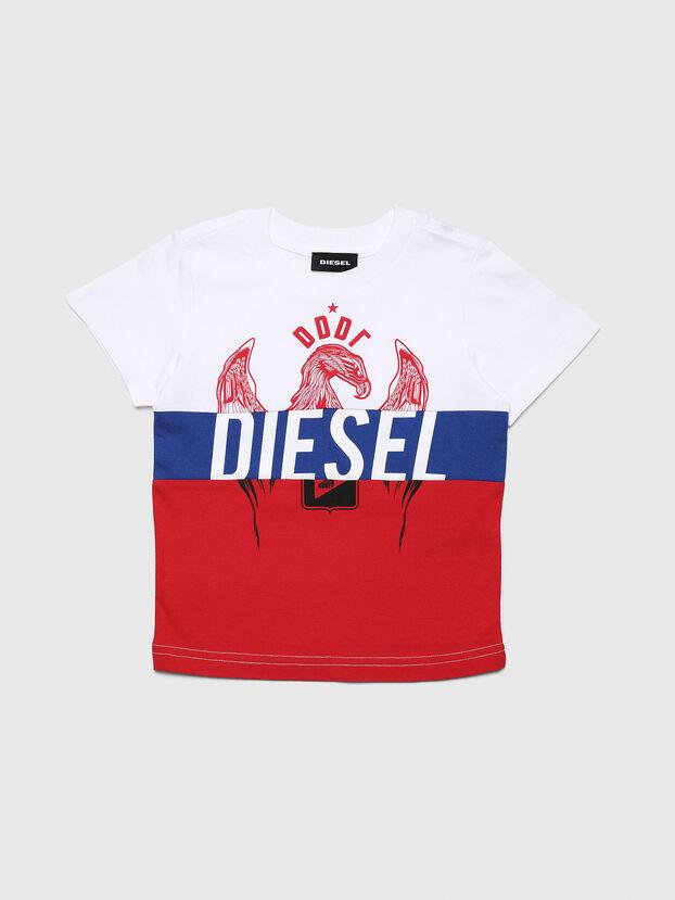 TRICKYB-R, Weiß/Rot/Blau - T-Shirts und Tops