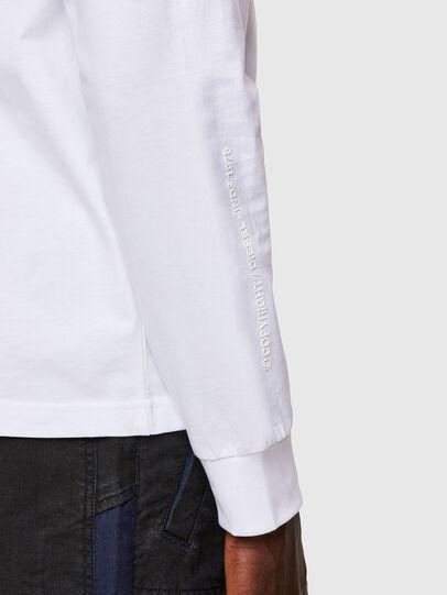 Diesel - T-JUST-LS-A30, Blanc - T-Shirts - Image 4