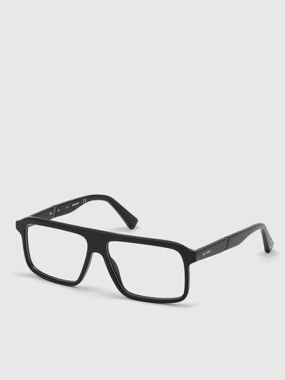 Diesel - DL5370, Schwarz - Korrekturbrille - Image 2