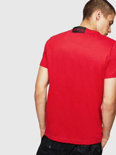Diesel - LCP-T-DIEGO-LISBOA, Rot - T-Shirts - Image 3