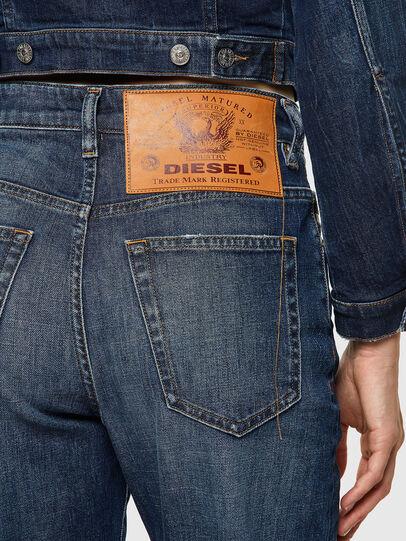 Diesel - D-Reggy 09A06, Bleu Foncé - Jeans - Image 4