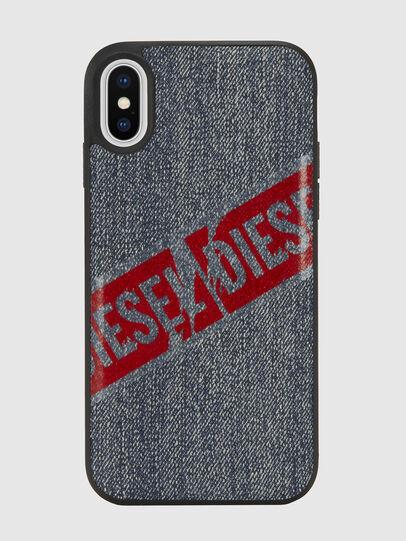 Diesel - VINTAGE DENIM IPHONE X CASE, Jeansblau - Schutzhüllen - Image 2