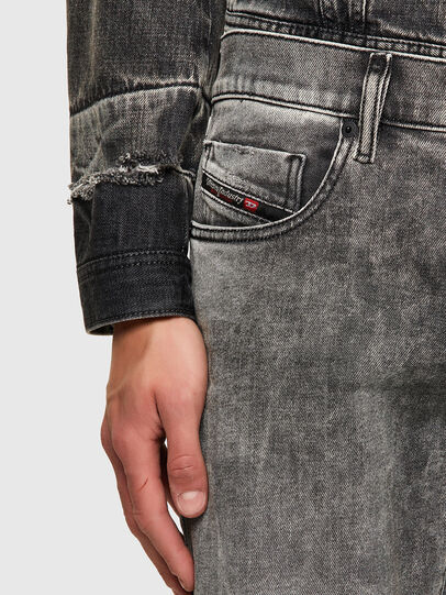 Diesel - D-Strukt 009KA, Gris Clair - Jeans - Image 4