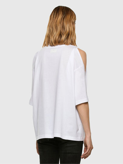 Diesel - T-RASSEL, Weiß - T-Shirts - Image 7