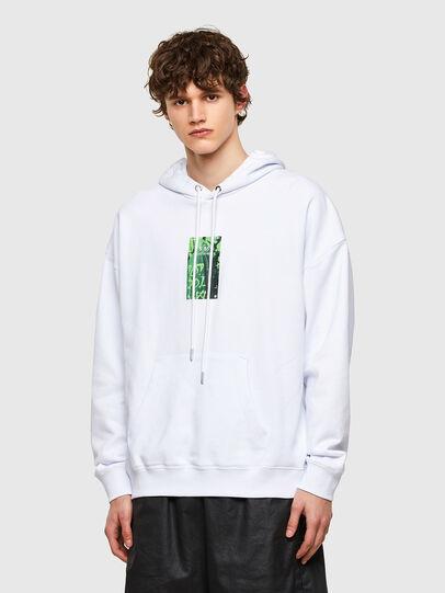 Diesel - S-UMMER-E1, Weiß - Sweatshirts - Image 1