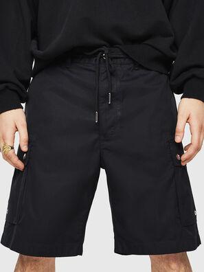 P-AIMI-P, Schwarz - Kurze Hosen