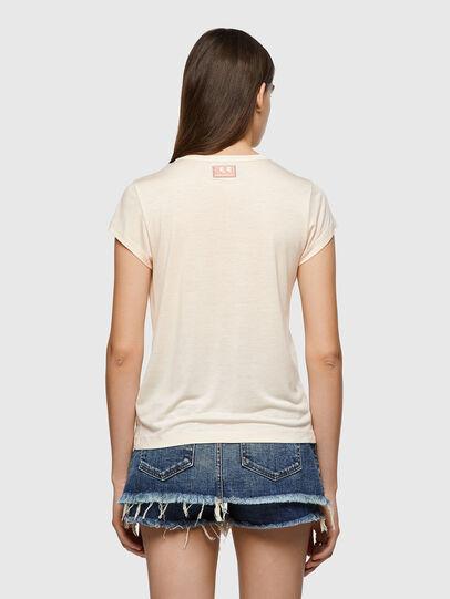 Diesel - T-RECUP-C.C, Rose Poudré - T-Shirts - Image 2