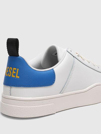 Diesel - S-CLEVER LOW LACE, Blanc/Bleu - Baskets - Image 4