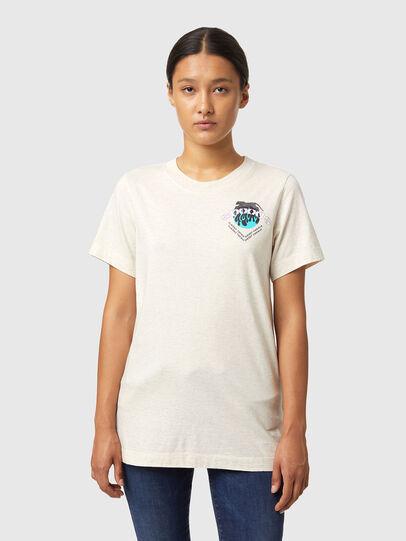 Diesel - T-LILLY-B1, Blanc - T-Shirts - Image 1
