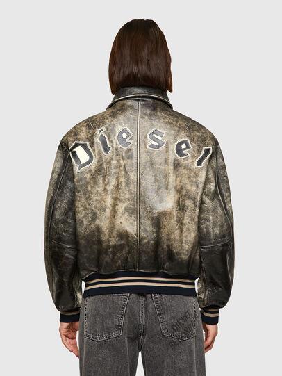 Diesel - DxD-2, Noir - Vestes de cuir - Image 5