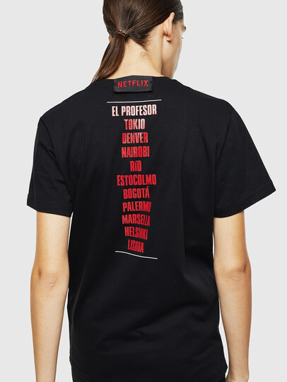 Diesel - LCP-T-DIEGO-CASA, Schwarz - T-Shirts - Image 4